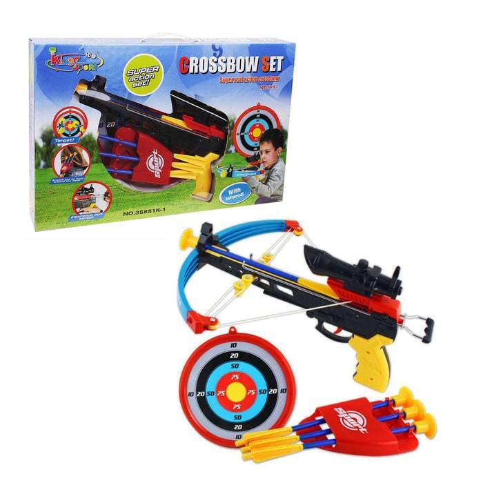 harga Mainan panah panahan anak crossbow set #35881k-1 Tokopedia.com