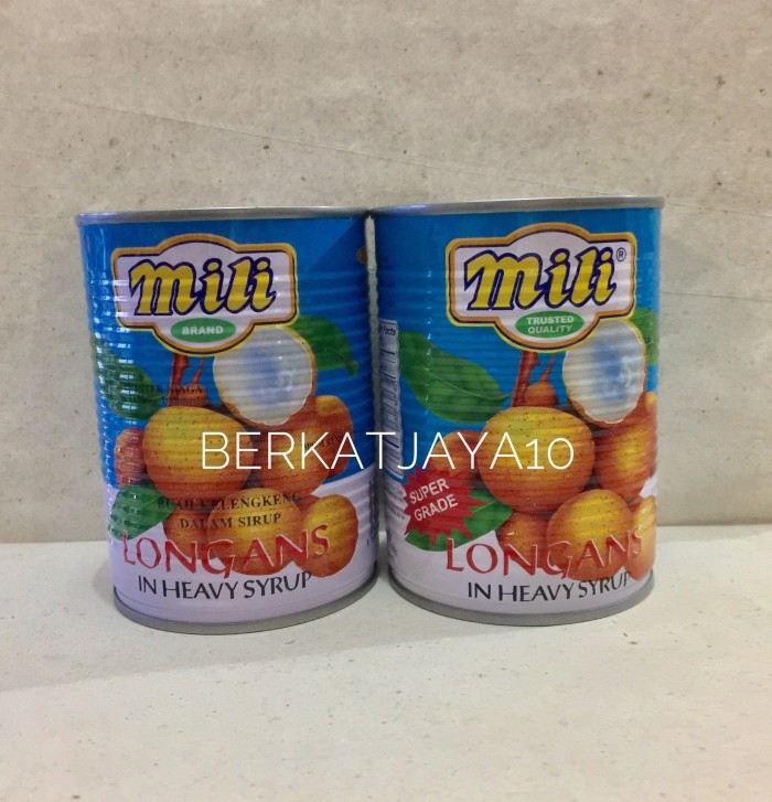 harga Mili longans kelengkeng lengkeng longan buah kaleng Tokopedia.com