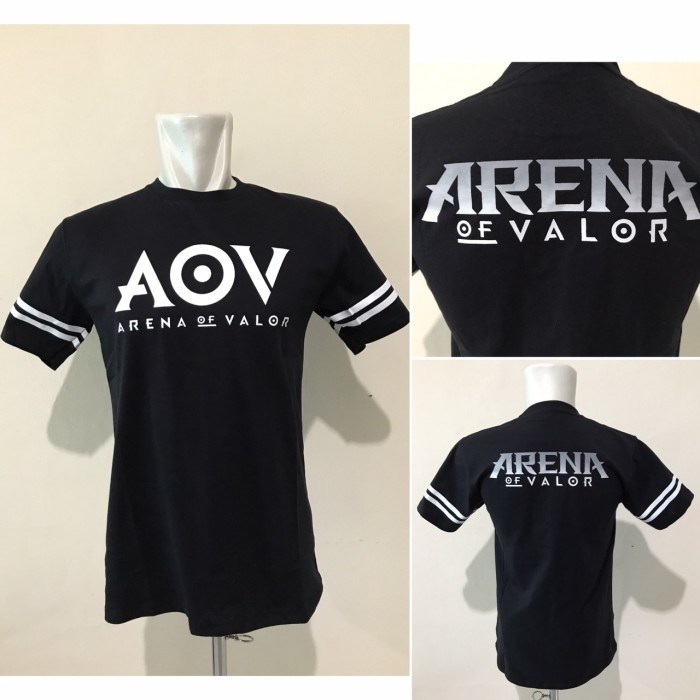 Kaos Gaming - Tshirt Gaming AOV Arena of Valor Black