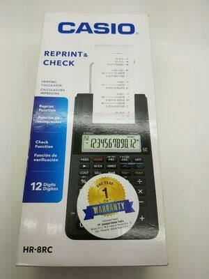 harga Kalkulator casio portable printer hr - 8 rc reprint and check Tokopedia.com