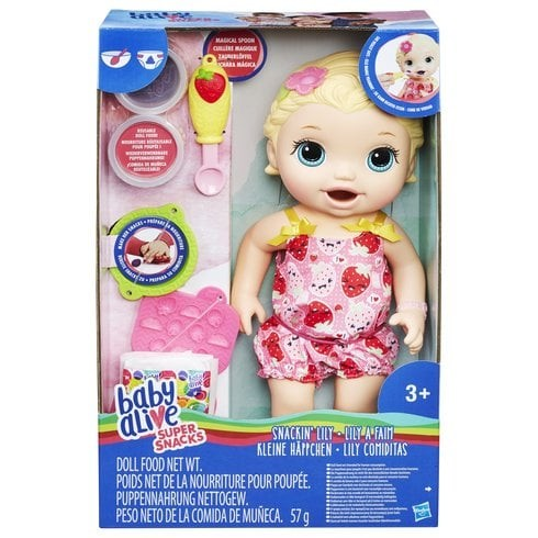 harga Baby alive super snacks snackin' lily doll Tokopedia.com
