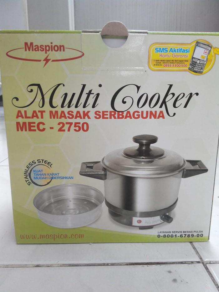 harga Multi cooker / panci listrik maspion mec-2750 Tokopedia.com