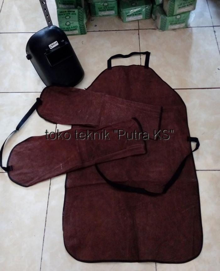 harga Paket full set safety las apron las kulit dan helm las setting putar Tokopedia.com