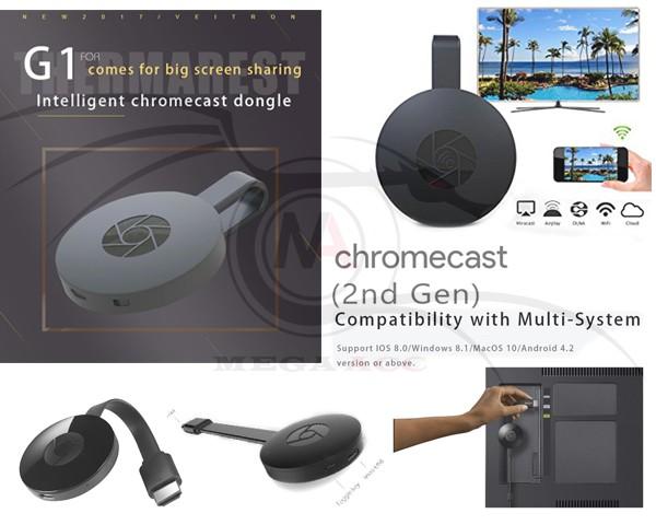 harga Google chromecast 2 g1 wireless wifi hdmi display receiver dongle Tokopedia.com