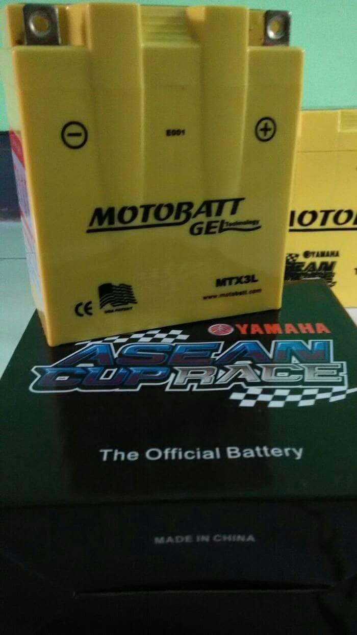 harga Aki motor honda nsr 150 motobatt mtx3l aki kering Tokopedia.com