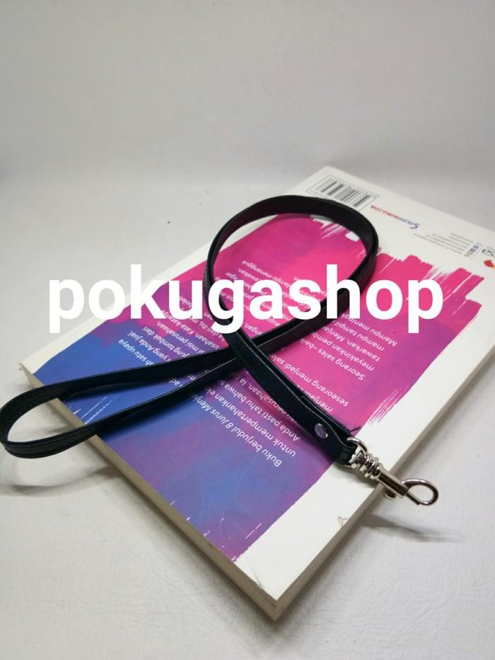 harga Tali id card /tali name tag /unisex /full kulit sapi asli /lanyard Tokopedia.com