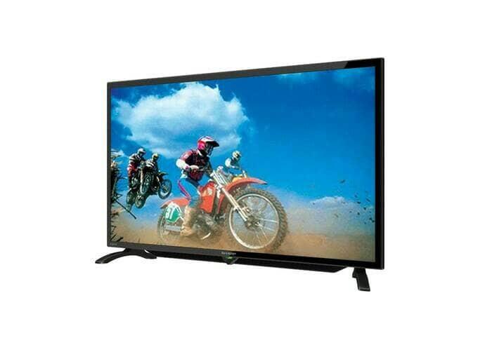 Led sharp 32 inch tv lc-32le180i 32le180 - hitam
