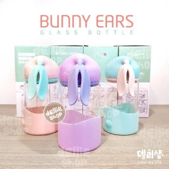harga Bunny glass bottle - botol minum gelas anak lucu bunny rabbit kelinci Tokopedia.com
