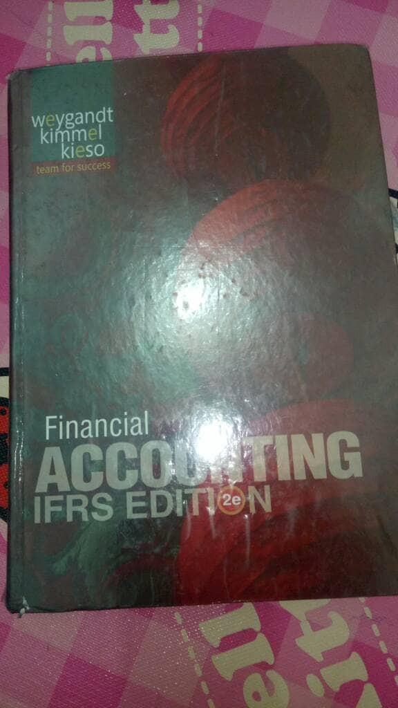 Jual buku Financial Accounting IFRS EDITION - DKI Jakarta - BUKU SECOND  JAKARTA | Tokopedia