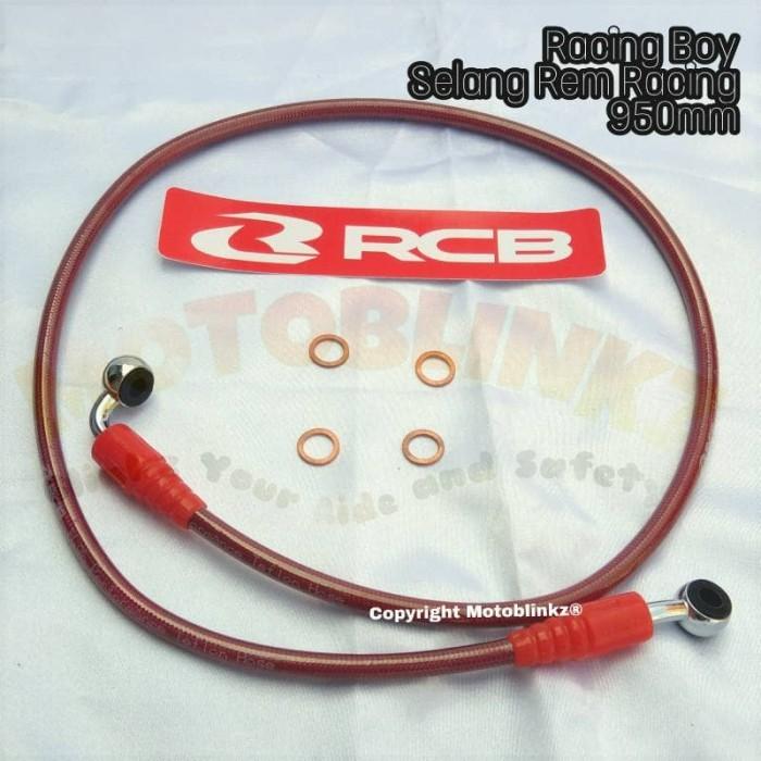 harga Selang rem racing boy - rcb 950mm - 95cm r15 , nmax , aerox , ninja Tokopedia.com