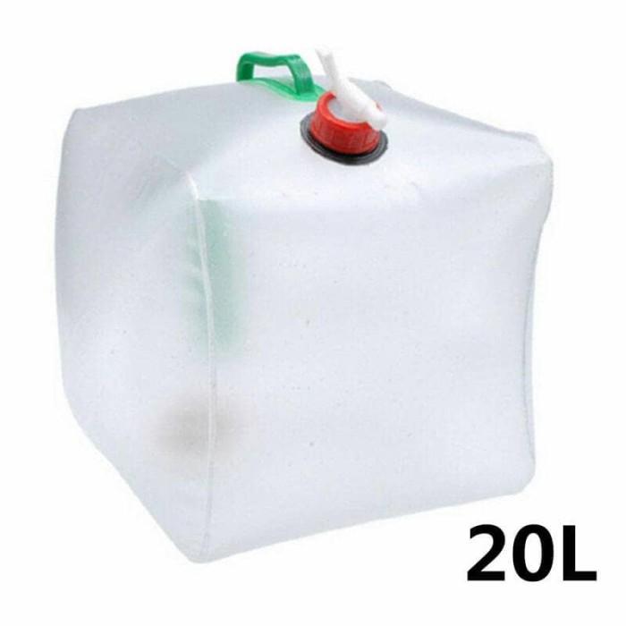 Foto Produk jerigen lipat - Kantung air minum portable 20 L / water storage dari Wali Limbung Store