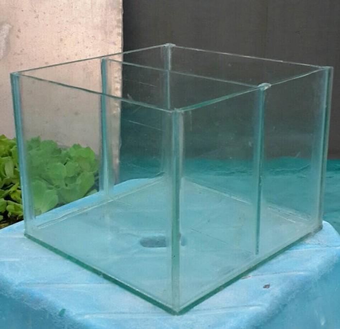 harga Akuarium aquarium kaca foto hias sekat ikan cupang aquascape murah Tokopedia.com