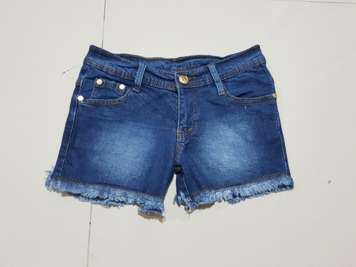 harga Celana jeans pendek hot pants size 27 28 29 30 strech murah bagus Tokopedia.com