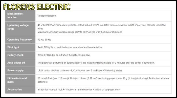 Jual Hioki Voltage Detector With LED Light 348120 T3009 - Kab  Bogor -  Actoluesq   Tokopedia