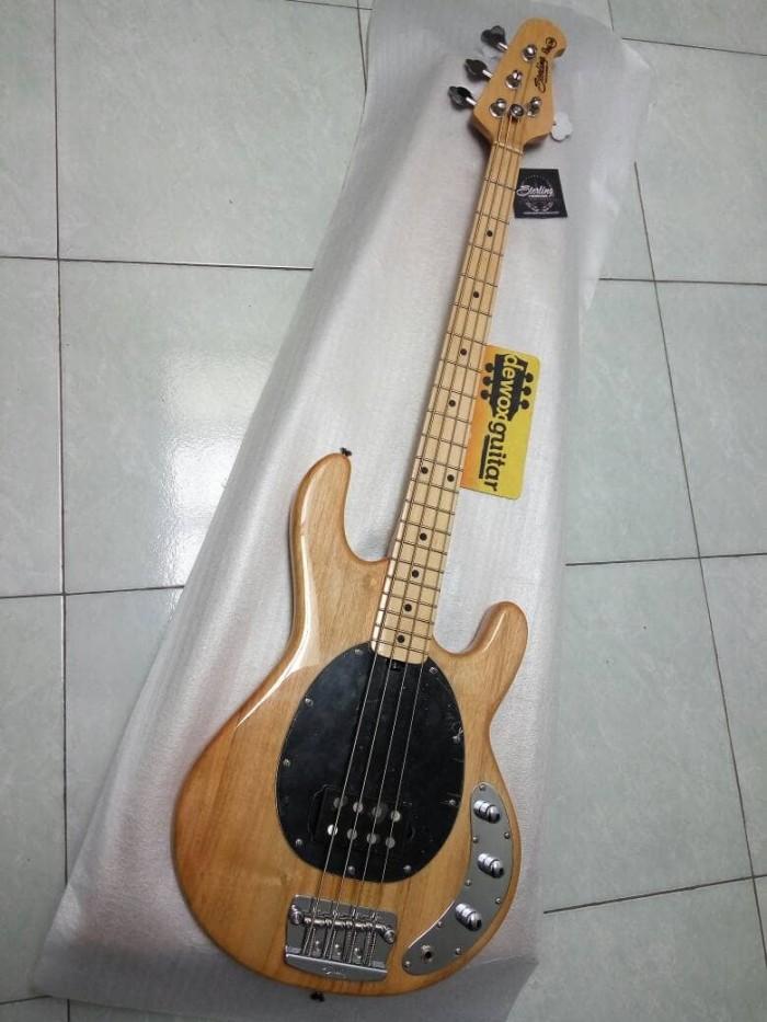 Beli Gitar Bass Musicman Sterling Ray 34 4st Natural Bass Guitar