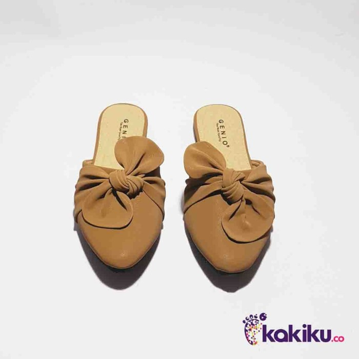harga Sepatu flat  shoes flatshoes genio  j03 tan  / terbaru Tokopedia.com