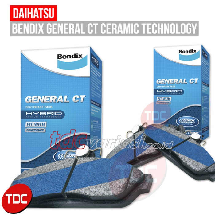 harga Charade  front brake pad bendix (kampas rem) daihatsu -tdc Tokopedia.com