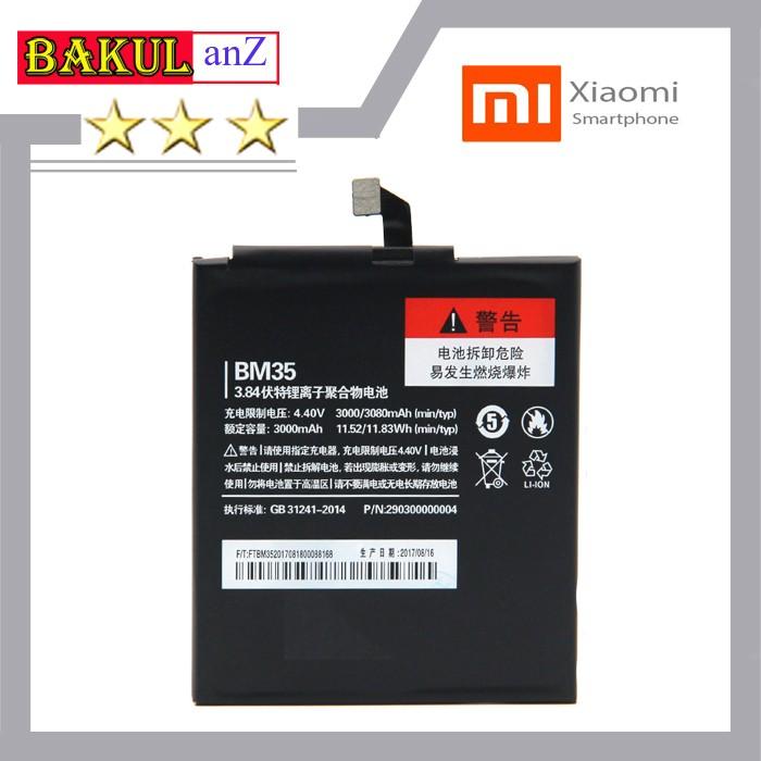 harga Baterai batre hp xiaomi mi4c bm35 - batu handphone xiaomi mi 4c ori Tokopedia.com