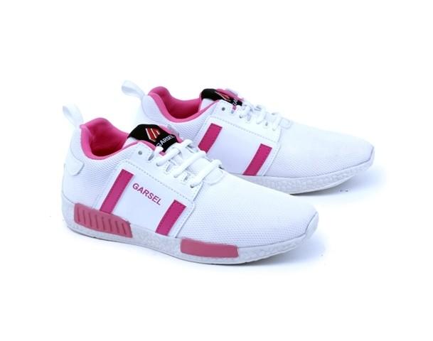 Sepatu Sport Wanita Original Distro Gs Sepatu Kets Olahraga pink-Putih