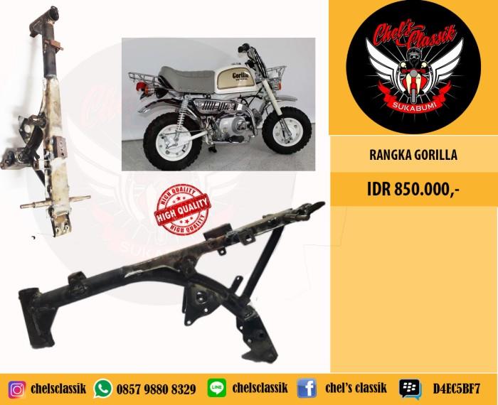 harga Rangka honda gorilla / rangka honda monkey z50 Tokopedia.com