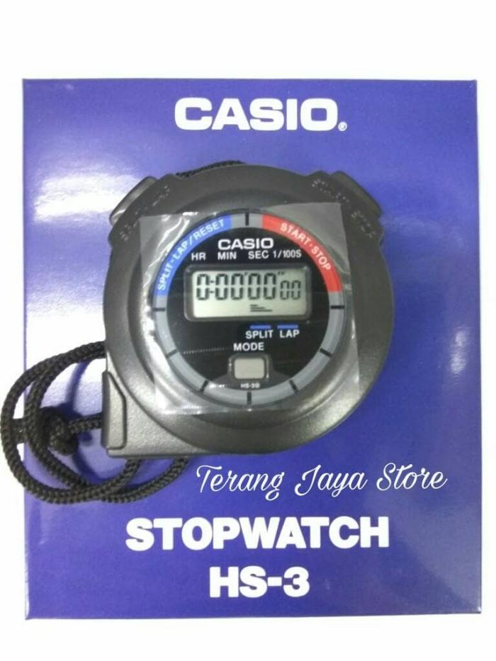 36cb367495 Casio Stopwatch Hs 3 - Daftar Harga Terbaru dan Termurah Indonesia