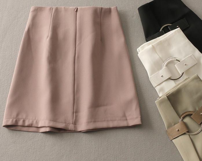 Rok Flare A-LINE MIDI Fashion Skirt Wanita Pakaian Korea Import japan