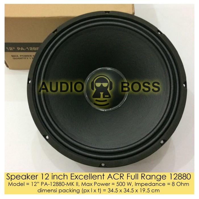 harga Speaker 12 inch excellent acr full range 12880 - speaker acr 12  12880 Tokopedia.com