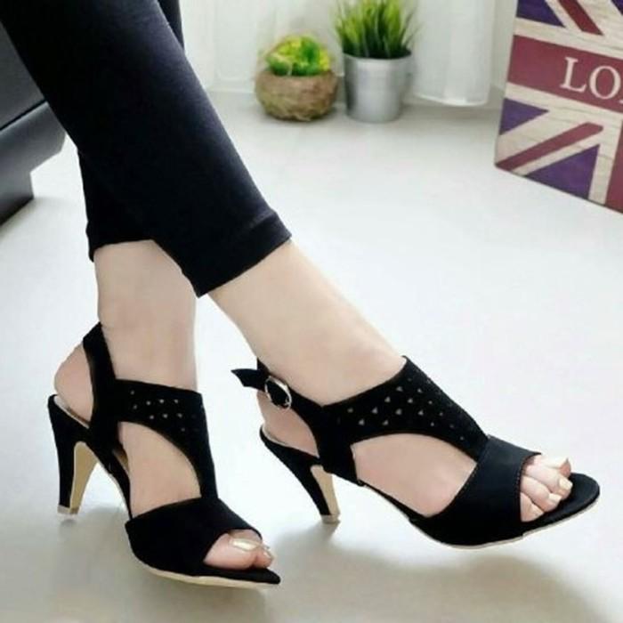 harga High heels | gm1001 | hs-075 sepatu sandals wanita terlaris Tokopedia.com