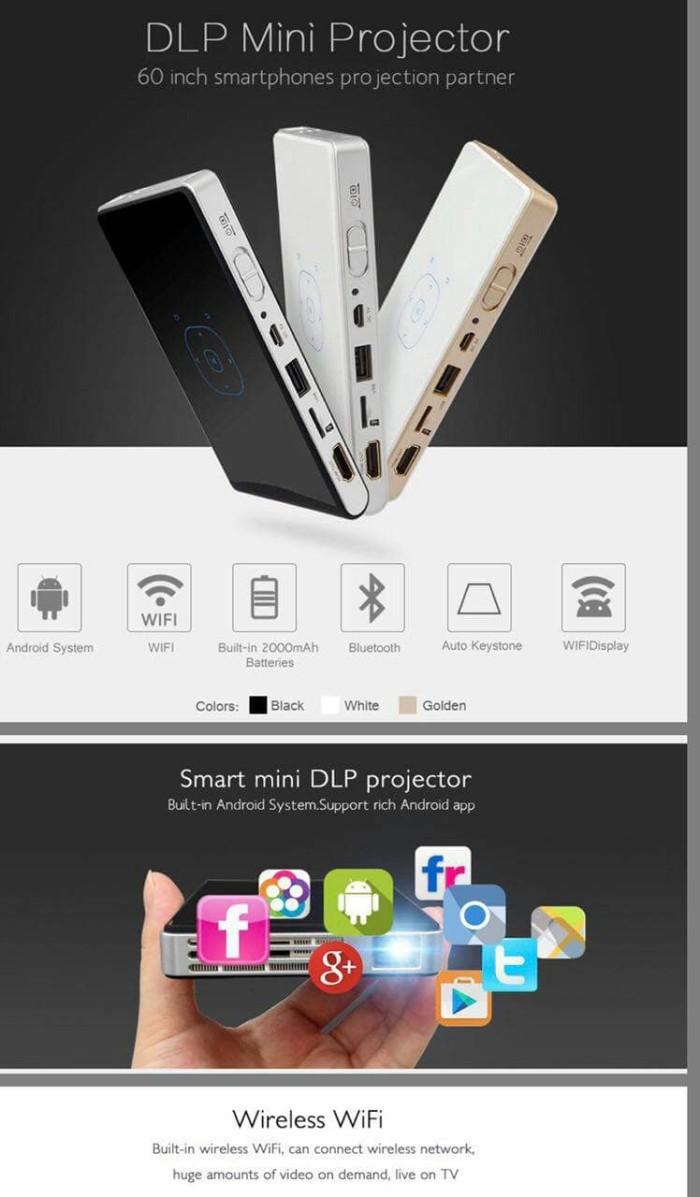 harga Dlp100 android pocket mini projector led Tokopedia.com