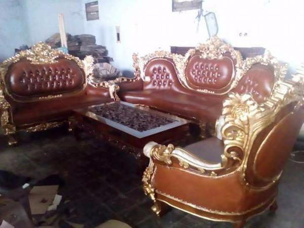Jual Kursi Tamu Sofa Minimalis Royal Romawi Jati Mebel Jepara Mewah