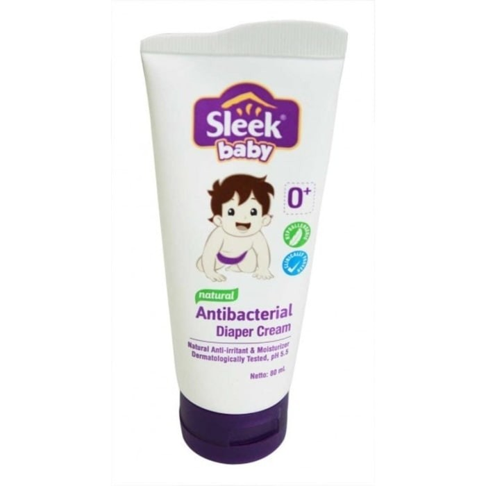 Sleek Baby Natural Antibacterial Diaper Cream