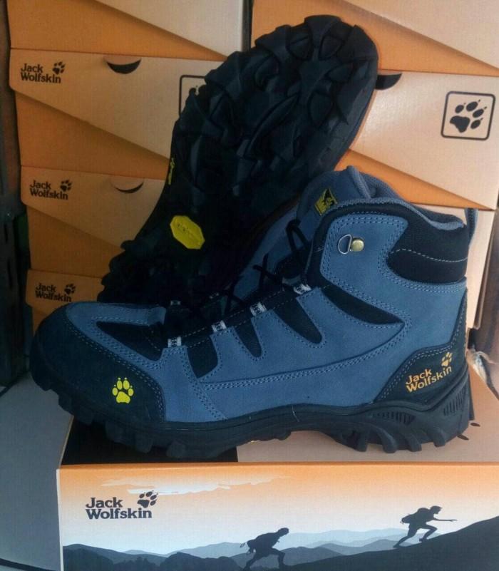 Jual Sepatu Jack Wolfskin Navy Sepatu Gunung Murah Sepatu Hiking