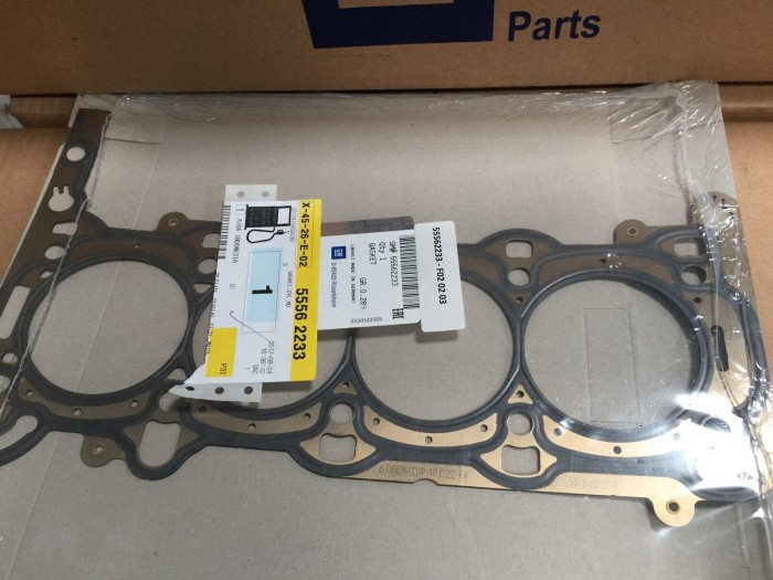 Jual Packing Cylinder Head Chevrolet Spin 12 Sonic Trax