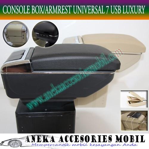 Console box armrest arm rest 7 usb 7usb luxury toyota sienta