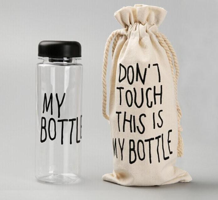 Foto Produk MY BOTTLE + SARUNG SERUT / Botol Minum Tumbler dari sumbawa shop