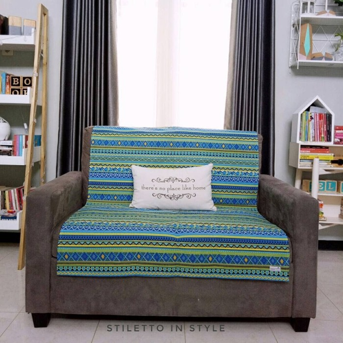 harga Alas sofa - tribal hijau Tokopedia.com