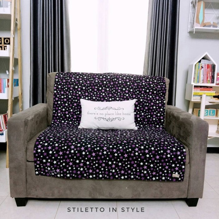 harga Alas sofa - stars ungu Tokopedia.com