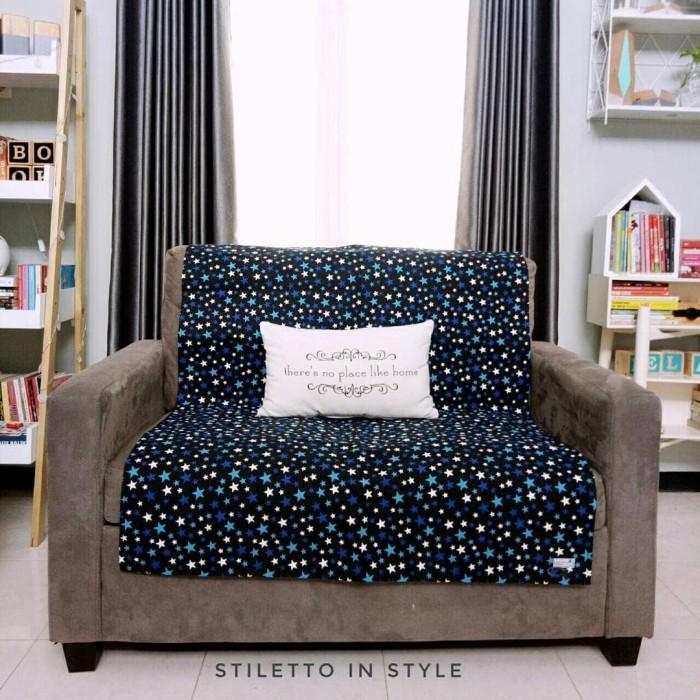 harga Alas sofa - stars biru Tokopedia.com