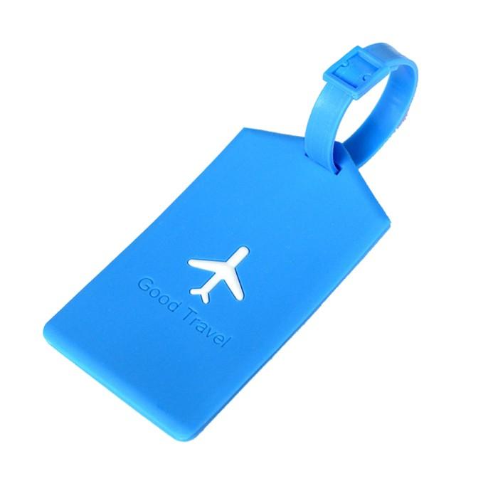harga Name tag tanda tas koper silikon silicon silicone square blue 602 Tokopedia.com
