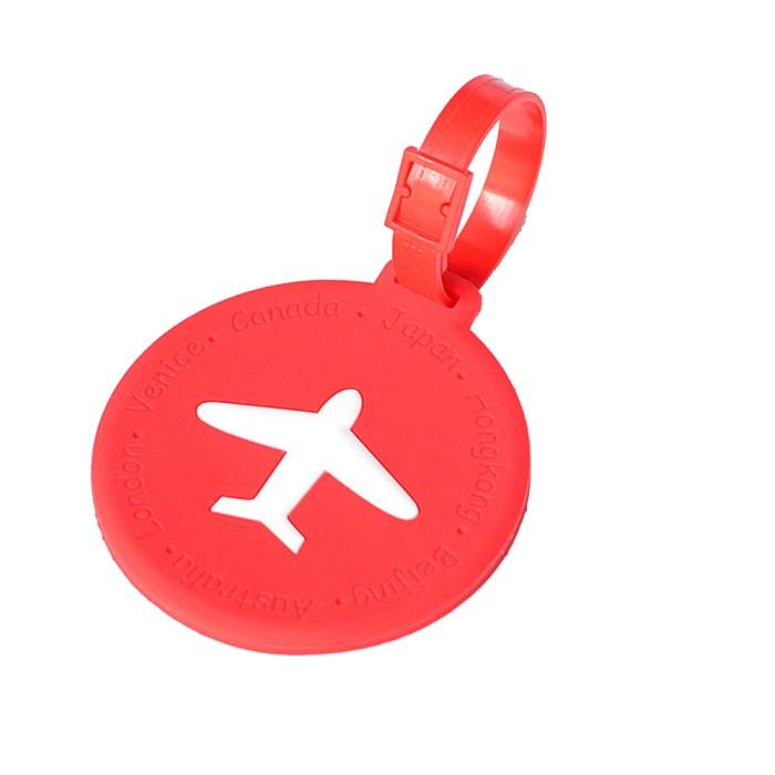 harga Name tag tanda tas koper silikon silicon silicone round red 595 Tokopedia.com