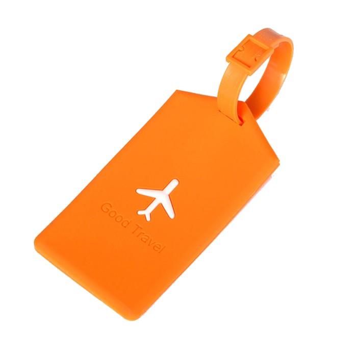 harga Name tag tanda tas koper silikon silicon silicone square orange 600 Tokopedia.com
