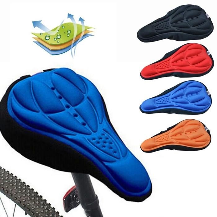 Foto Produk Sarung Jok Sepeda / Cover Jok Sepeda / Saddle Cover 3D Gel - Hitam dari Uwo Sports