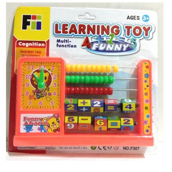 harga Mainan leaning toys multifunction 4 in 1 / mainan edukatif Tokopedia.com