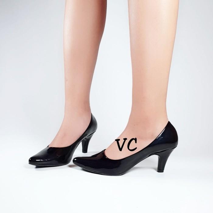 Jual Sepatu Wanita Kerja Formal Pantopel Fantopel Pantofel Heel ... 80022126cc