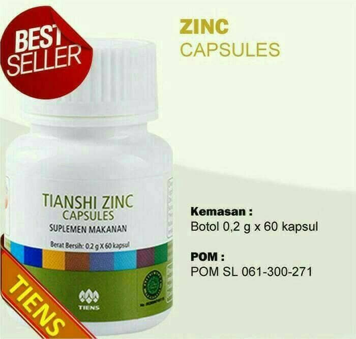 Foto Produk tiens zinc 100% original dari sehat ku alami