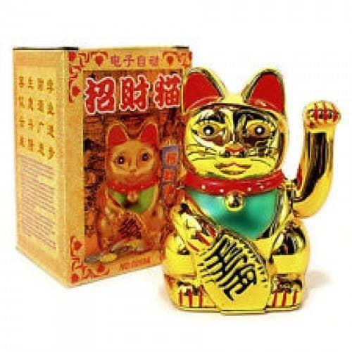 Jual Pajangan Kucing Cat Manekineko Mane Kineko Jepang Cina 15cm Kota Medan Plazaunik Tokopedia