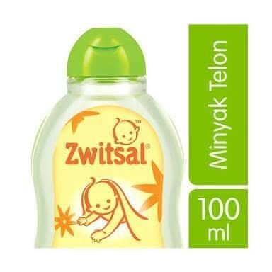 Zwitsal Baby Natural Minyak Telon 100Ml Anti Nyamuk