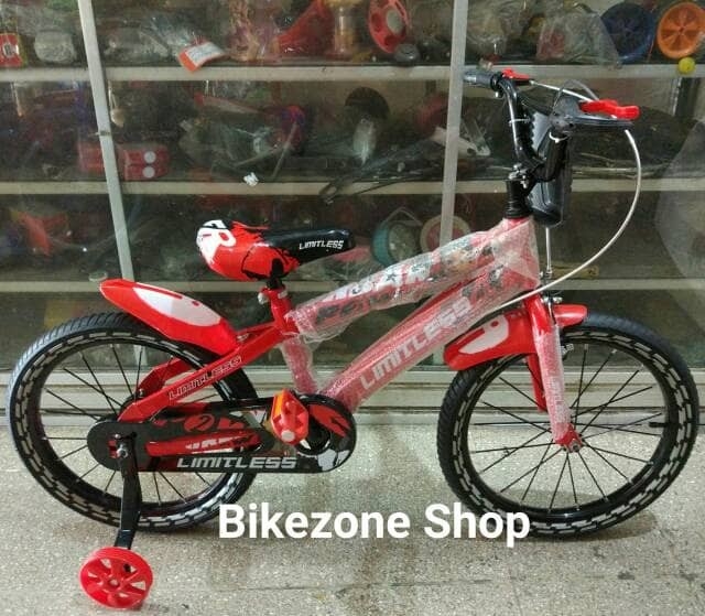 Sepeda BMX 18 Inch Limitless Shiva