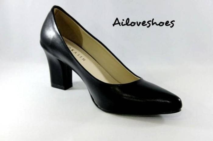 Sepatu Wanita Pantofel Kerja High Heels Casual Pump Heel - Daftar ... b6adccb3b1