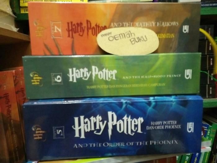 harga Novel harry potter hardcover jilid 56&7 Tokopedia.com